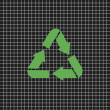 Recycle sign  — Stockvectorbeeld