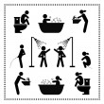Personal hygiene symbol — Stock Vector #37480781