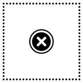 Remove symbol — Stock Vector