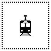 Train symbol — Stock Vector