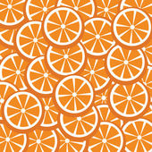 Oranges vector for background — Stock Vector