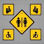 Toilet sign — Stock Vector #39675511