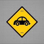 Car symbol — Stock Vector