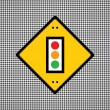 Traffic lights symbol — Stock Vector