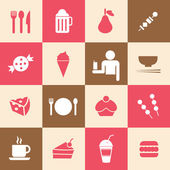 Food and drink icon — Vetorial Stock