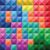 Abstract colorful squares pattern — 图库矢量图片