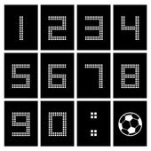 Score board number — Vetorial Stock