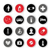 Hospital icons set  — 图库矢量图片