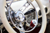 Retro interior vintage car — Stockfoto