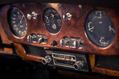 Retro interior vintage car — Foto Stock