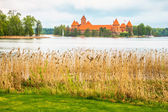 Medieval old castle in Trakai, Lithuania — Stock Photo