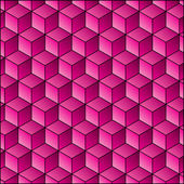 Abstract background with gradient cube decoration pattern — Stock Vector