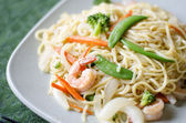 Chow mein noodle — Stock Photo