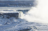 Horseshoe Falls in Winter — Stock Photo