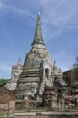 Wat Phra Si Sanphet in Ayutthaya, Thailand — Stock Photo