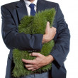 Stock Photo: Grass Hug