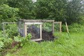 Rural Compost Bin — Stock Photo