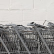 Shopping Carts Horizontal — Stock Photo #30157811