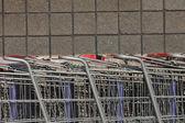 Shopping Cart Detail — Stock Photo