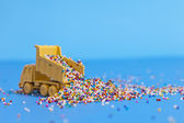 Sprinkle Disaster — Stock Photo