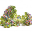 Stock Photo: Dessert Broccoli