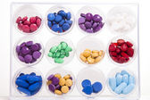 Pill Display — Stock Photo