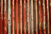 Corrugated Metal Background — Stock Photo