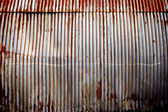 Corrugated Metal Background — Stock Photo