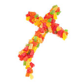 Candy Crosses — Stock Photo