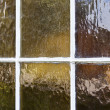 Stock Photo: Antique Window Glass