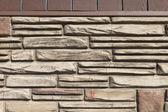 Muro di pietra — Foto Stock