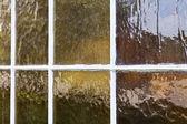 Antique Window Glass — Stok fotoğraf