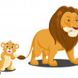 Cute Vector Set of Zoo Animals — Stock Vector #32736071