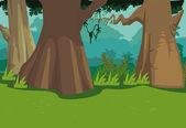 Tree Background — Stock Vector