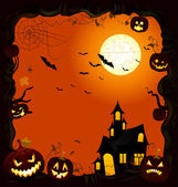 Card Halloween — Stockvektor