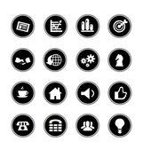 Icons Set — Vector de stock