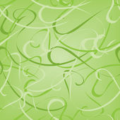 Patrón verde transparente — Vector de stock