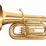 Tuba isolated on white background — Stock Photo #47522277