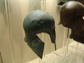 Bronze object in the museum of Olympia in Greece — Stock Photo