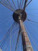 海王星 galeon 在热那亚 — 图库照片