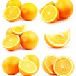 Orange on white background — Stock Photo #29440281