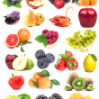 Big compilation of fruit — Stock Photo