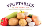 Vegetables close-up — Stock Photo