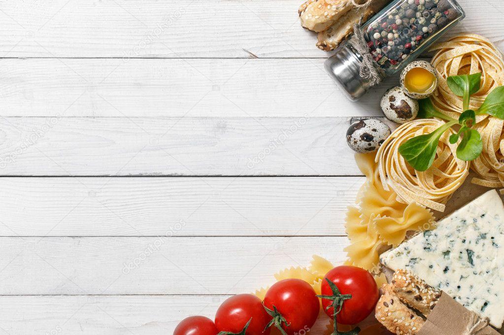 Fondo de comida italiana foto de stock primopiano for Cuisine wallpaper