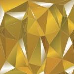Polygonal background orange silver — Stock Vector #42900413