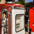 Stockfoto: Vintage gas pumps in Arizona