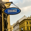 Foto de Stock  : Change Sign