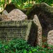 Old Jewish Cemetery in Prague — Stock Photo