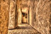 Abandoned passage at Prague Castle, Czech Republic — Stock Photo