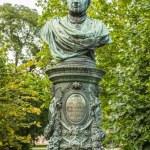 Постер, плакат: Bust of Andreas Zelinka in Vienna Stadtpark
